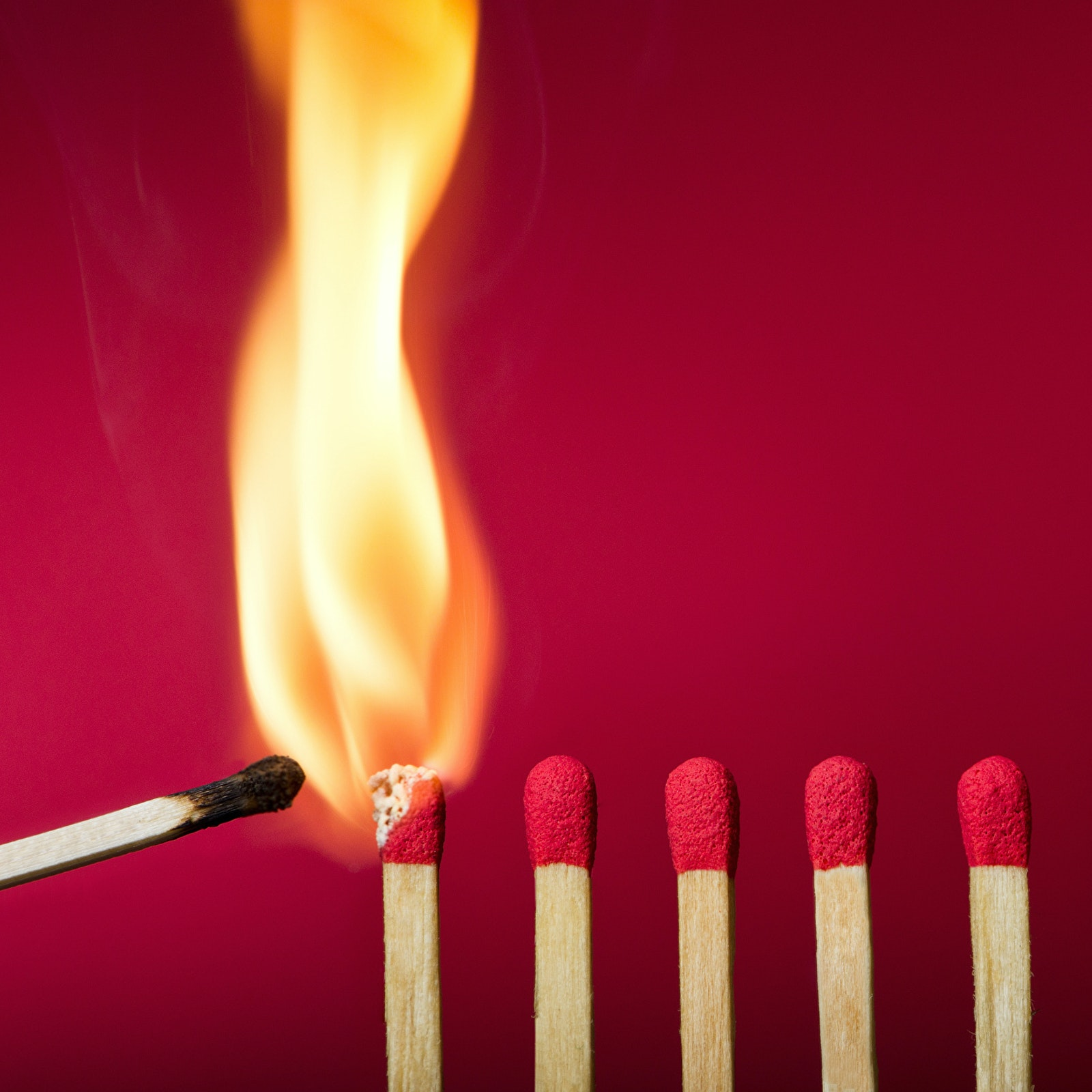 Fire Match Red background 530872 2560x1440
